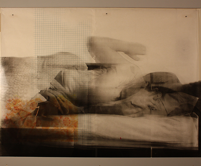 The Everyday Liminal V (3' x 4') silkscreen on plexiglass and paper