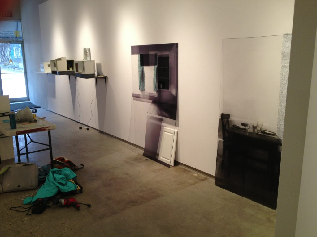 Installing works at SNAP
