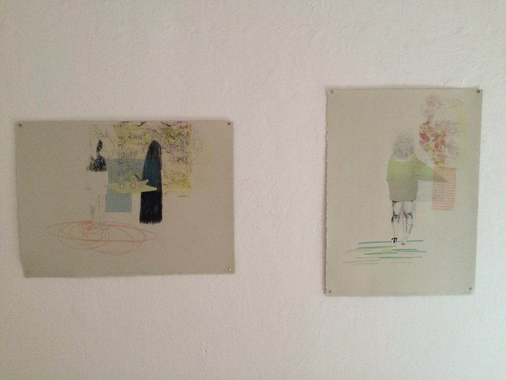 Install shot of my recent silkscreens