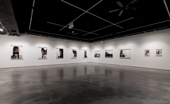 Install shot: The Body, Stranger at the VPAG. Photo credit: Digital Perfections
